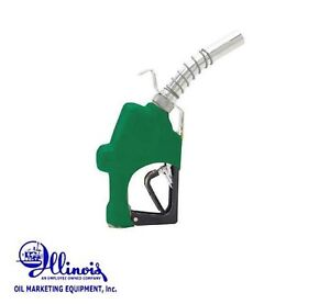 Husky 045710n 03 Fuel Nozzle Diesel High Flow 1gs H Green