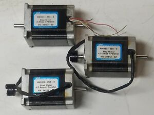 Lot Of 3 Ams Advanced Micro Systems Am23 258 3 Stepping Motors