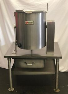Used Legion Teh 20 Electric 2 3 Jacketed Tilt Kettle 20 Quart
