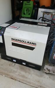 Ingersoll Rand Ssr ep10 Rotary Screw Air Compressor Only Read Read
