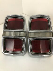 1967 Ford Fairline Tail Lights Classic Vintage Rear Brake Reverse