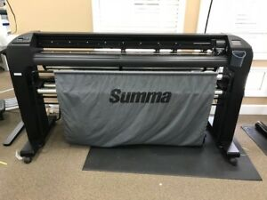 Summa S2 D140 54 Vinyl Cutter With The Original Box This Is The Newest Version