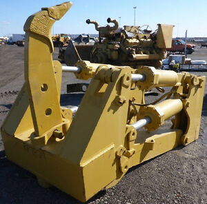 Caterpillar Cat D8 Ripper Fits D8r D8t D8n D8l In Excellent Condition Work Ready