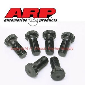 Arp Manual Flywheel Bolts Fits Sb Chevy Bb V6 With 1 Piece Rear Main Seal