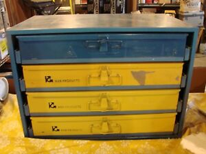 Parts Storage Cabinet By Kar Products 4 Drawers With Dividers