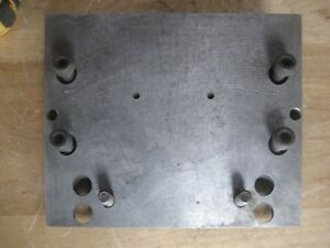 Milling Machine Angle Plate Fixture 10 Wide 8 Long 2 3 4 Thick X 1 8