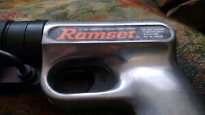 Ramset 122md Hammer Nail Gun Powder Actuated Tool With Case works