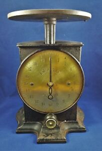 Antique Cast Iron Brass Face Scale U S Scale North Brothers