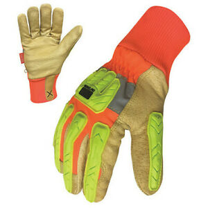 Winter Leather Impact Gloves xl cut 5 pr Ironclad G ehvip5 05 xl