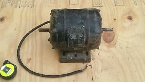 Craftsman Motor 1 3 Hp 1750 Rpm 110v Thermal Protection 1 2inch Double Shafted