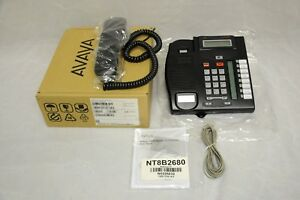 Nortel Norstar T7208 Business Telephone Nt8b26aabl New In Box