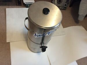 Curtis 3 Gallon Stainless Steel Tea Dispenser Nsf