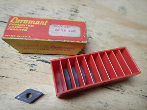 New Old Stock Sandvik Coromant Dnmg 442 Carbide Inserts Metal Lathe