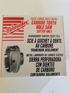 Milwaukee 49 57 8317 Sheet Metal Hole Saw Cutter 1 7 32 In Nib