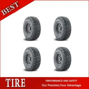 4pcs Mickey Thompson Tyres Deegan 38 Lt305 60r18 Tires 305 60 18 2 Ply
