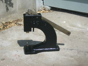 Eyelet Tool Co Punch press Bench Mount Press punch Tool