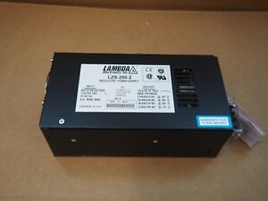 Tdk Lambda Regulated Switching Power Supply 250w 12v 15v 21a Lzs 250 2