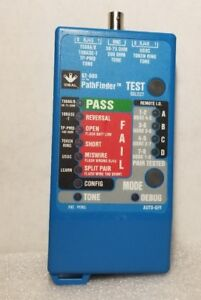 Ideal 62 080 Pathfinder 4 Channel Cat5 Network Wire cable tester tracer Rj45 Bnc