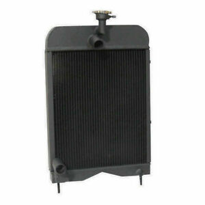 194275m93 Tractor Radiator Fits Massey Ferguson 20 35 135 Uk 148 203 205 2135 D2