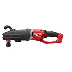 Milwaukee 2711 20 M18 Fuel Super Hawg Right Angle Drill W Quik lok bare Tool