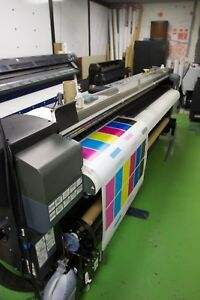 Hp Designjet 10000 Solvent Printer
