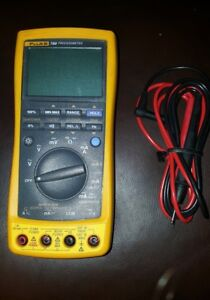 Fluke 789 Processmeter W Leads Very Good Cond free Shipping
