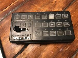 Whelen Cencom Remote Control Head 12v 01 0285981 00c I Have Many