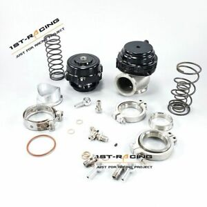 50mm Bov 44mm Wastegate Combo Turbo Blow Off Valve Bov And Waste Gate Stainless