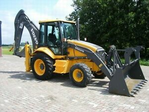 Volvo Bl61 Plus Backhoe Loader Service Shop Repair Manual