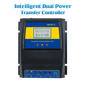 Automatic Dual Power Transfer Switch For Solar Wind System Dc 12v 24v 48v