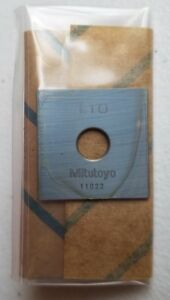 Mitutoyo 614570 521 1 10 Mm Gauge Block Square Steel Asme 00