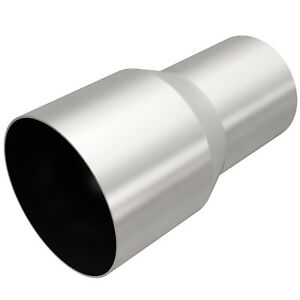 Magnaflow 10764 Exhaust Tip Adapter 3 Inlet 4 Outlet 7 Long Stainless Steel