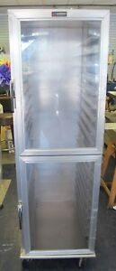 Lockwood Ca72 rr18 r Enclosed Tray Transport Cabinet Holds 18 Trays