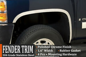 1999 2006 Chevrolet Silverado Gmc Sierra 1500 2500hd Fender Wheel Moulding
