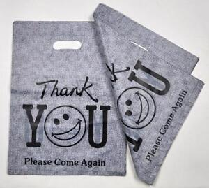 Thank You Plastic Bags Gift Packaging Shopping Pouch 100pcs lot 30x40cm