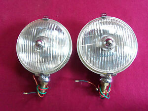 Lucas Sft 576 Lamp Pair Excellent Quality New