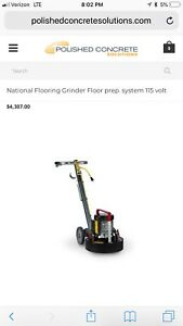 National 5274 Concrete Grinder polisher