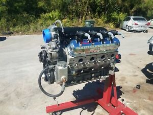 Chevy Ls7 Billet Engine 427 Cu In 8700 Rpm Ls7 Road Race Or 9 Sec Qt 890 Hp