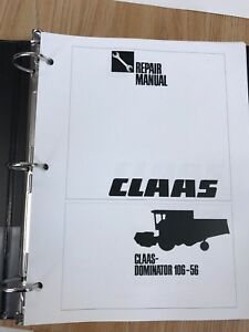Claas Dominator 106 56 Service And Repair Manual