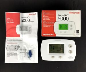 Honeywell Focuspro 5000 Digital Thermostat Non programmable 2h 2c Th5220d1003
