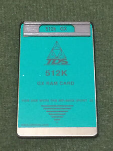 Tds 512k Gx Ram Card For Hp 48gx Calculator