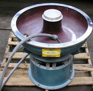Sweco 24 Vibroenergy Grinding Mill Mod Dm 1 New Surplus Ser Dm 37 Item 8702