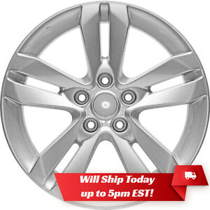 New Set 4 17 Replacement Alloy Wheels And Centers For 2007 2018 Nissan Altima