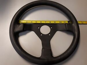 Vintage Leather Sport Steering Wheel Bmw Porsche 911 928 944 Datsun Vw Audi 13