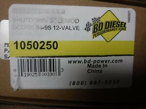 B Fuel Injection Pump Shut Off Solenoid Brand New In Box