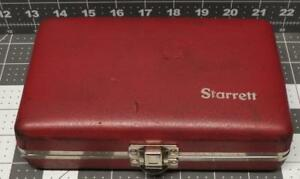 Starrett Webber Metric Mm Gage Block Set Great Condition 8 Pieces Measuring