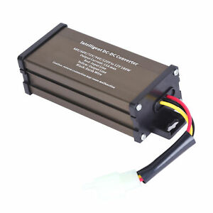 Golf Cart Dc Converter 72v 72 Volt Voltage Reducer Regulator To 12v 15a