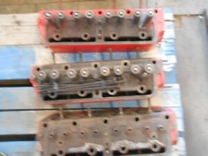 3 Engine Heads Fits Farmall F 12 Or F 14