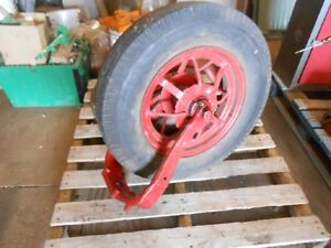 2 Single Wheel Front Ends For Farmall F 12 Or F 14