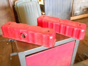 Two Engine Valve Covers For Farmal F 12 F 14